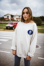 "Load image into Gallery viewer, Sudadera ""astronauta"" color crema"