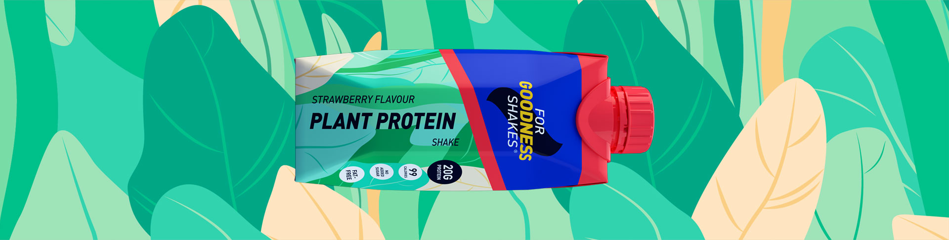 Plant Protein Shake (330ml) - 12 pack
