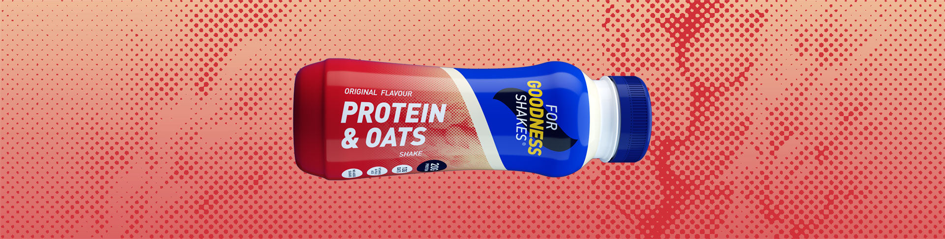 Protein & Oats Shake (315ml) - 10 pack