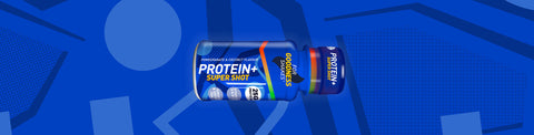 Protein+ Super Shot (60ml) - Pomegranate & Coconut Flavour - 12 Pack