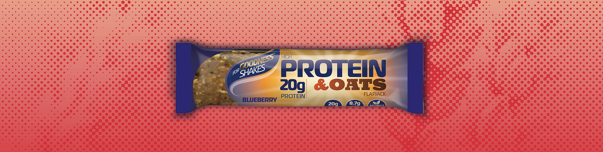 Protein & Oats Flapjack - 12 pack