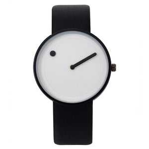 Minimalist Style Creative Design Quartz Wristwatch for Men or Women