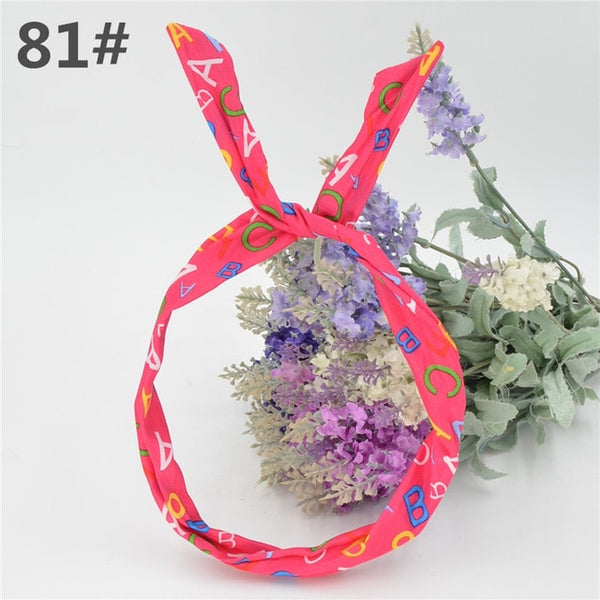 Cute Bunny Rabbit Ears Chiffon Hairband