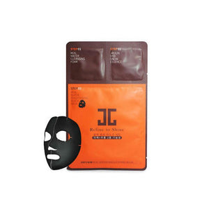 JAYJUN Three Step Real Water Brightening Black Mask