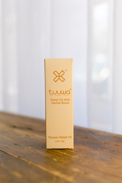 Tuuwa Relief Oil With Herbal Boost 2 oz