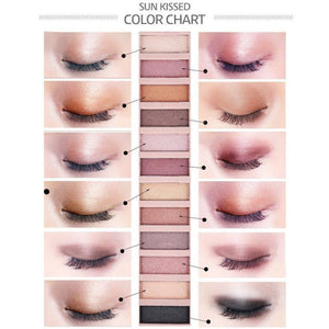 Shimmer and Matte 12 Color Eyeshadow Palette