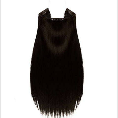 Hidden Halo Straight Synthetic Hair 18""