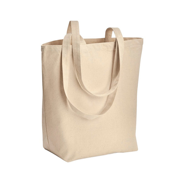 10 oz. Large Cotton Canvas Tote