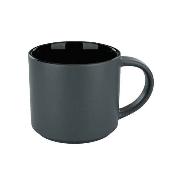 Custom 16 oz. Distinction Mug (Matte Grey w/ Black Inside) | Custom + Kind