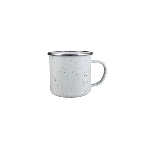 Custom 16.9 oz. Enamel Campfire Mug (White) | Custom & Kind
