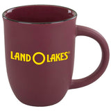 Custom 14 oz. Salem Mug (Satin Burgundy) | Custom + Kind