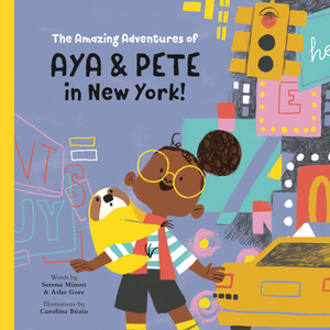 The Amazing Adventures of Aya & Pete in New York children's book
