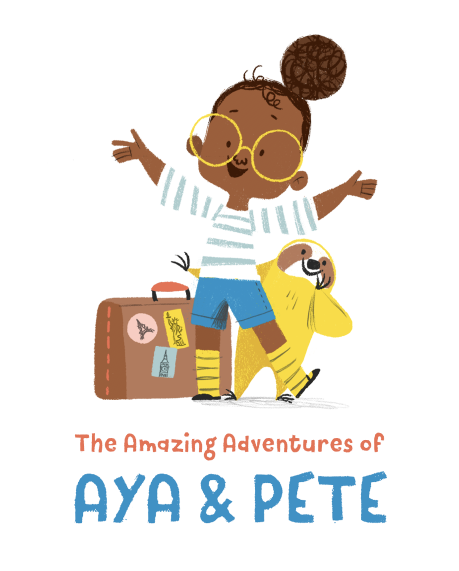 Aya & Pete EMPOWER Sticker Pack