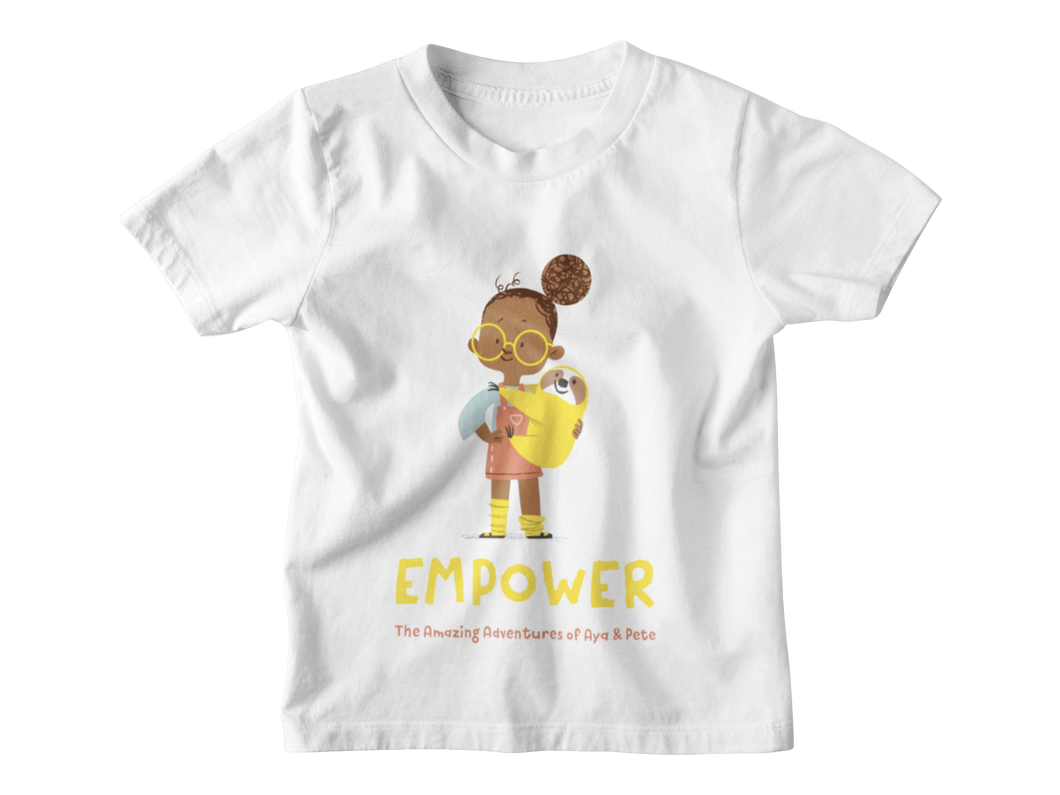 Aya & Pete Empower T-Shirt (Organic Cotton)