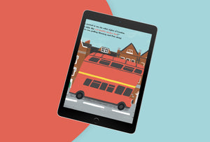 Digital E-Book - The Amazing Adventures of Aya & Pete in London (EPUB/PDF)