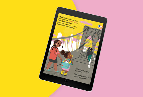 Digital E-Book - The Amazing Adventures of Aya & Pete in New York (EPUB/PDF)
