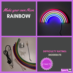 Make your own Neon Rainbow