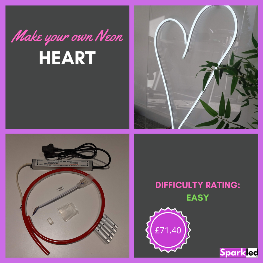 Make your own Neon Heart