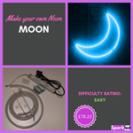 Make your own Neon Moon