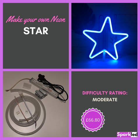 Make your own Neon Star