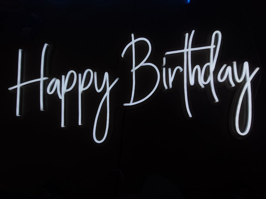 Led Neon Sign Happy Birthday