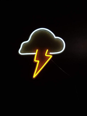 Thunder and Lightening Neon Sign