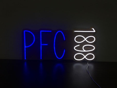 PFC 1898 Neon Sign