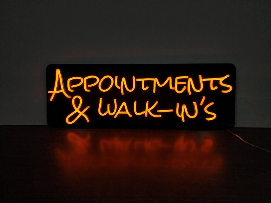 Appointments and walk in's