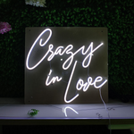Led Neon Sign Crazy in Love