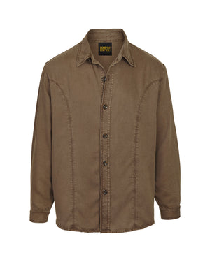 Workers Jacket  - Washed Brown