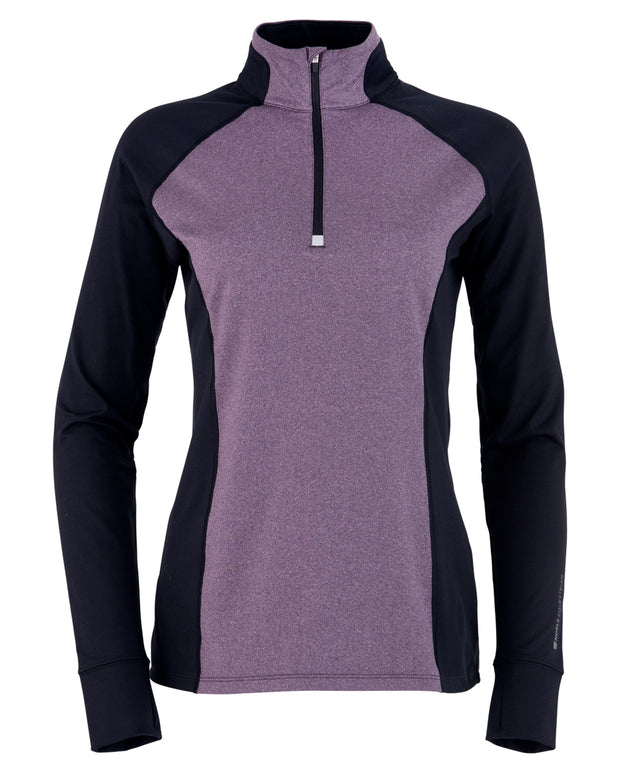 Purple Ash Heather/Black
