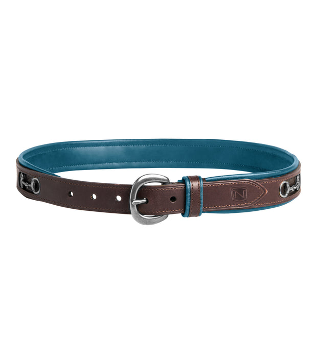 Deep Turquoise - Mid Brown/ Silver