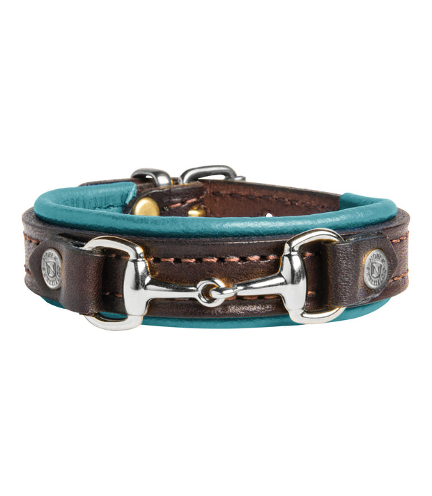 Deep Turquoise-Mid Brown/ Silver