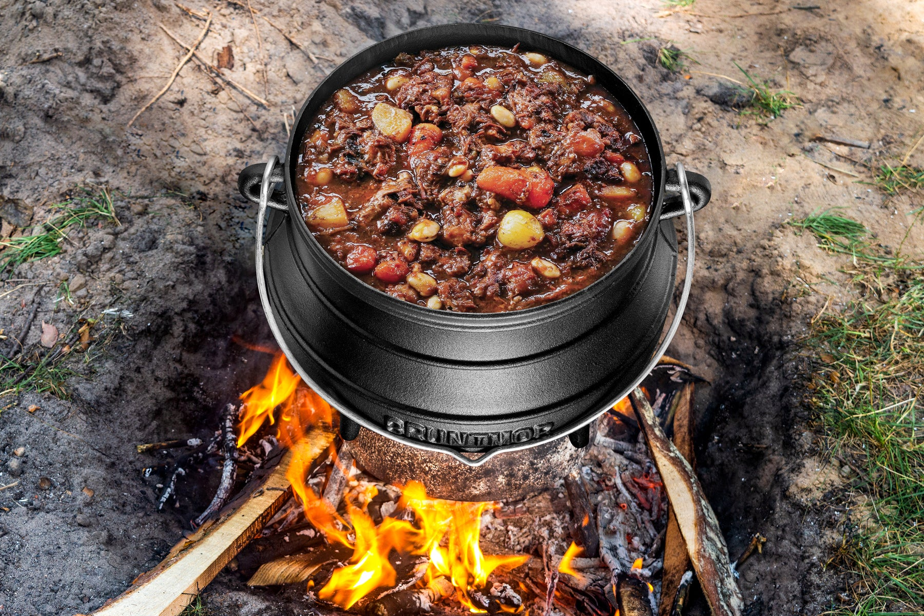 All About Our Cast Iron Pre-Seasoned Potjie African Pot