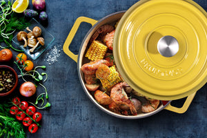 How to Clean and Care for Enameled Cast-Iron Cookware: Dutch Ovens and Skillets
