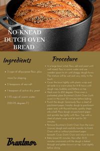 No-Knead Dutch Oven Bread!