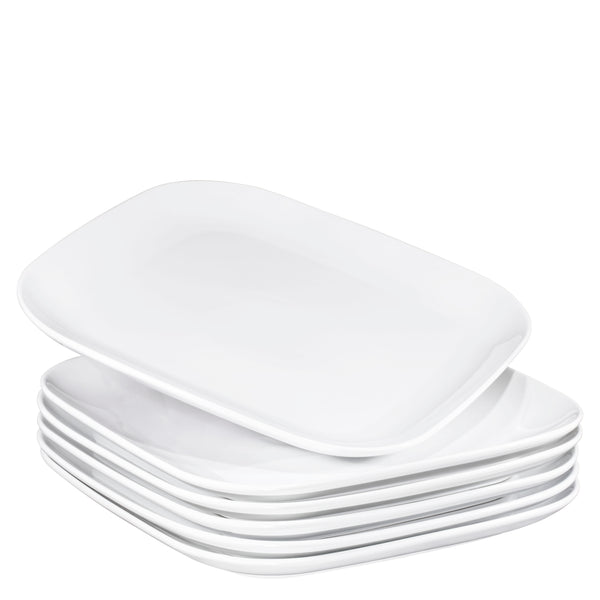 "Bruntmor 10"" Square Dinner Plates, Ceramic Dinner Dishes (6-piece Set - Bruntmor"