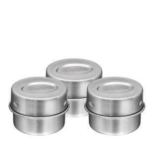 Condiment Canisters - Set of 3