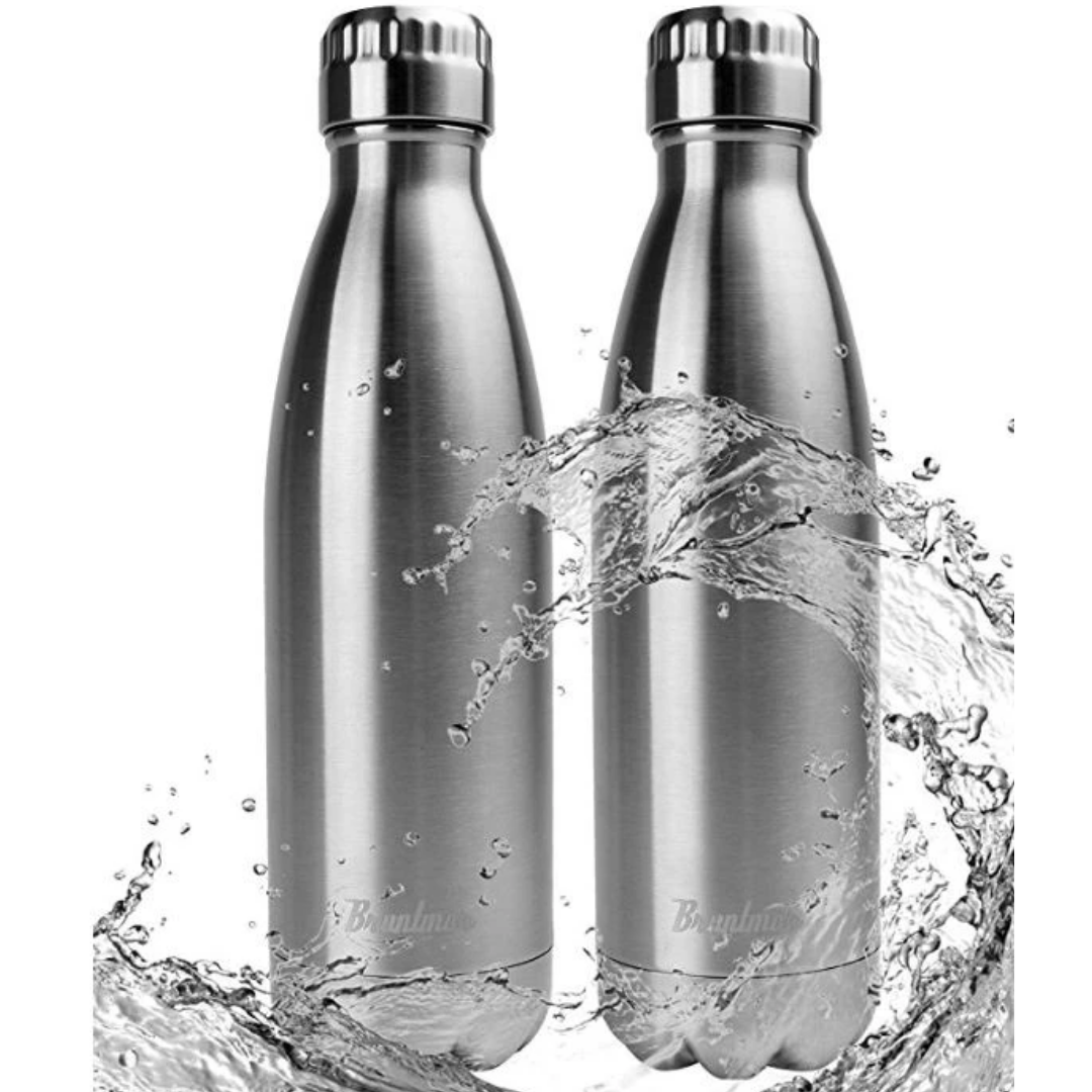 Double Wall Vacuum Insulated Cola Thermos Bottle, 17 oz - Bruntmor