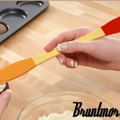 Bruntmor Peanut Butter, Cheese & Jelly Spreader, Silicone - Bruntmor