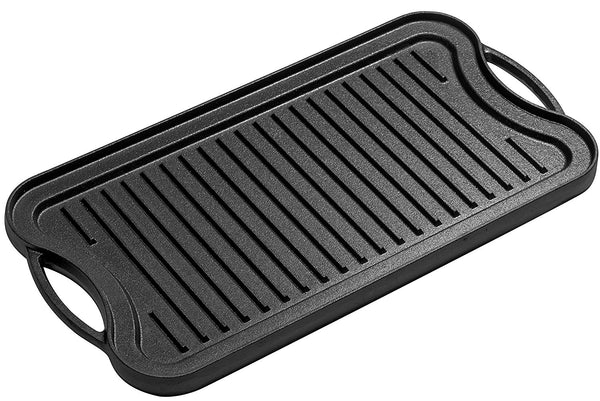 Reversible Grill/Griddle Pan, 20 x 10 - Bruntmor