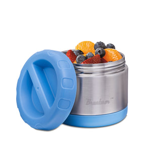 Blue, 14-Ounce Food Jar