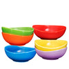 Ceramic Dessert Bowls Set – 18 Oz set of 6, for Rice, Ice-cream, Salad, and Cereal - Bruntmor