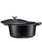 Matte Black Enameled Dutch Oven - Bruntmor