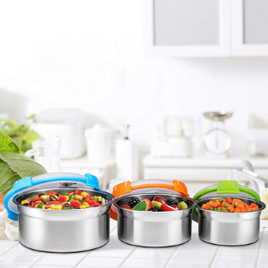 Airtight Food Containers - Set of 3 - Bruntmor