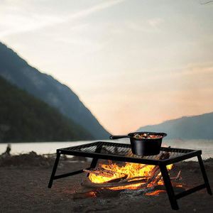 Campfire Grill Stand - Bruntmor
