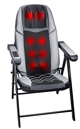 Folding Massage Chair with Heat Mode - Bruntmor
