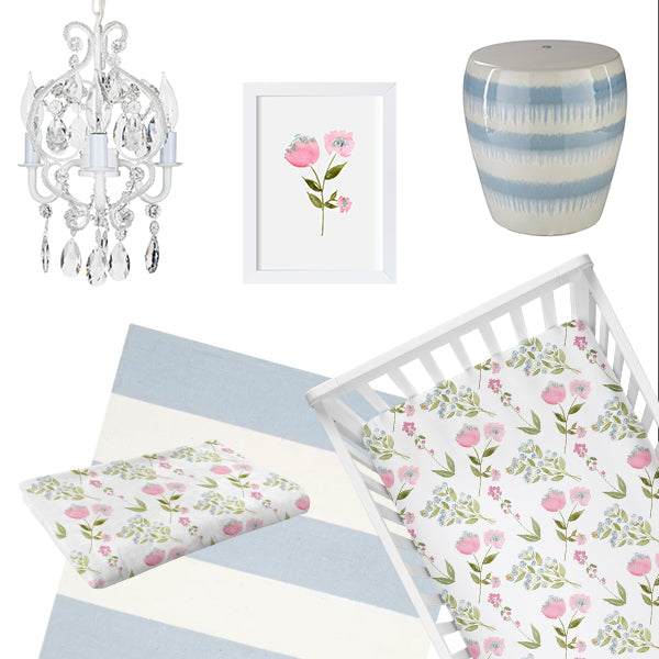 Blooming Spring Nursery Theme