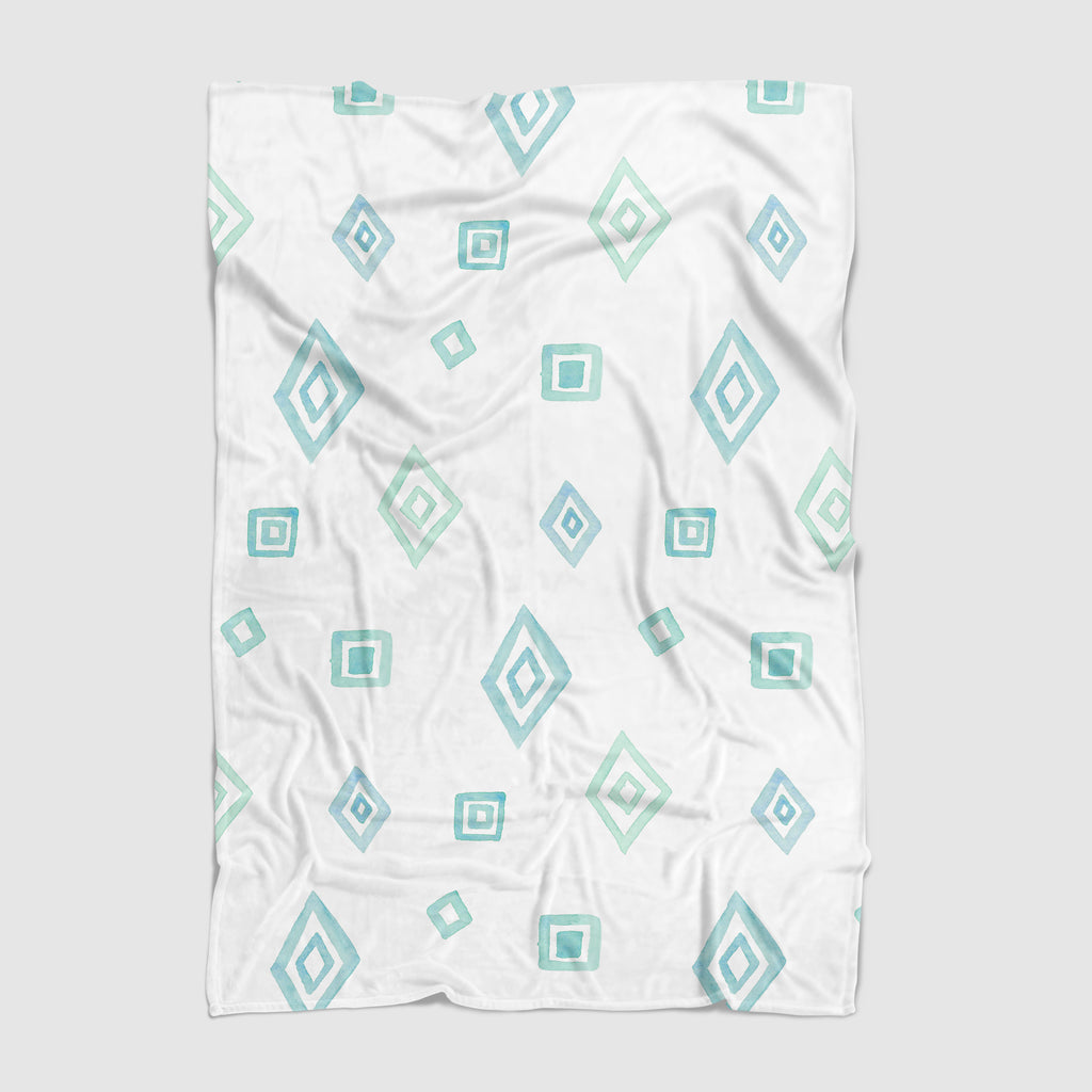 Shapes Minky Baby Blanket - Hillary Proctor Studio