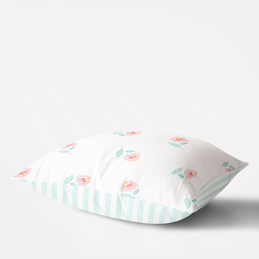 Sweet Pea Floral Pillow - Hillary Proctor Studio